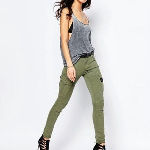 G-Star Raw rovic high skinny jeans